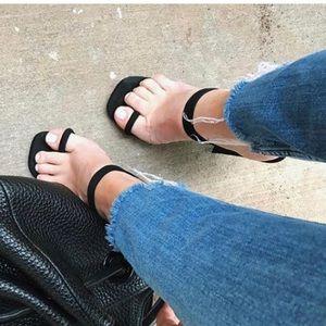 Minimal Strap Heels